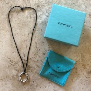 Tiffany & Co Sterling Silver Sevilla O Necklace